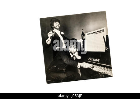 Poor Old Mr. Woogie by Chas & Dave.  Released in 1981. - Stock Photo