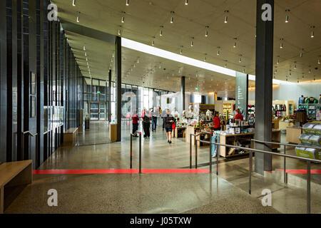 Inside the Visitor Centre, Giant's Causeway, Causeway Coast, County Antrim, Northern Ireland, UK - Stock Photo