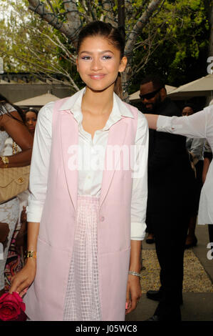 Zendaya attends the 7th Annual Women of Excellence Awards on June 13, 2015 at the Luxe Hotel in Los Angeles, CA. - Stock Photo