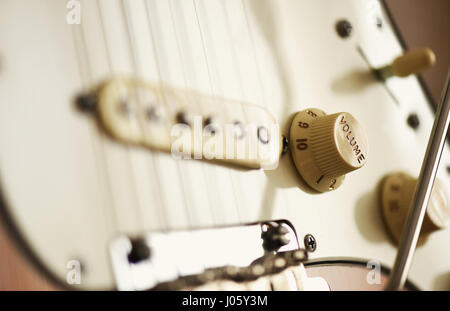 electric guitar sound control Stock Photo, Royalty Free Image ...