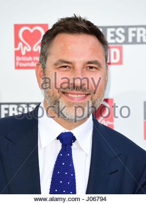 """Embargoed to 0001 Tuesday April 11 File photo dated 18/07/16 of David Walliams who is """"furious"""" that his - Stock Photo"""