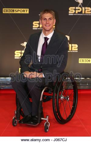 Embargoed to 0001 Tuesday April 11 File photo dated 11/04/17 of paralympic athlete Steve Brown, who has told how - Stock Photo