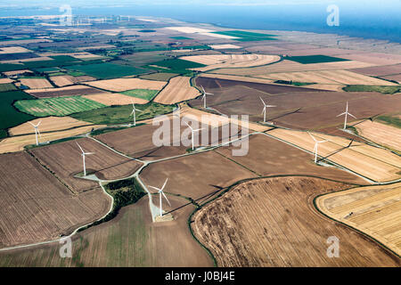 UNITED KINGDOM: Blackwater Estuary National Nature Reserve, Essex.  STUNNING aerial images show the scale of the - Stock Photo
