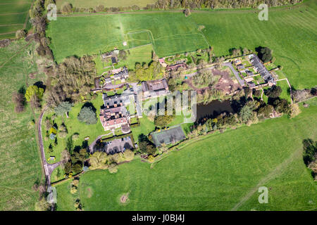 UNITED KINGDOM: Gloucestershire. STUNNING aerial images show the scale of the industrialisation of the world-famous - Stock Photo