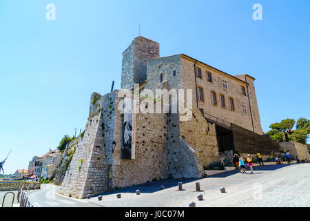 Picasso Museum, Antibes, Alpes Maritimes, Cote d'Azur, Provence, France - Stock Photo
