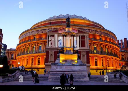 Royal Albert Hall, Kensington, London, England, UK - Stock Photo