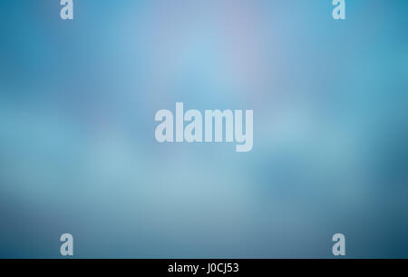 abstract blue blurred background - Stock Photo