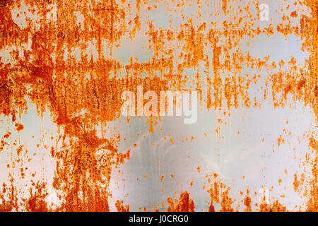 Rusty Grunge Aged Grey metal Texture - Old Stainless Steel Background with Scratches - Monochrome Dirty Metallic - Stock Photo
