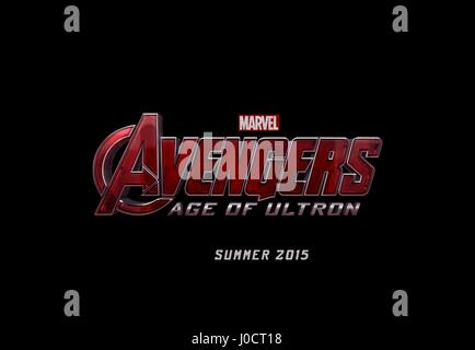 MOVIE POSTER AVENGERS: AGE OF ULTRON (2015) - Stock Photo