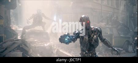 ROBOTS AVENGERS: AGE OF ULTRON (2015) - Stock Photo