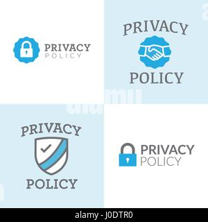 Badge Website privacy policy or badge for website stock vector