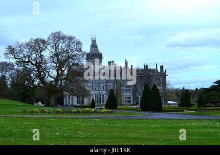 Ireland's Adare manor in Limerick County. - Stock Photo