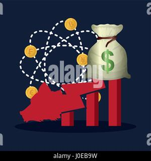 wall street concept exchange stock - Stock Photo