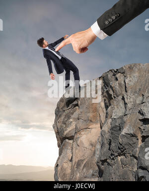 Forced dismissal for problem with boss - Stock Photo