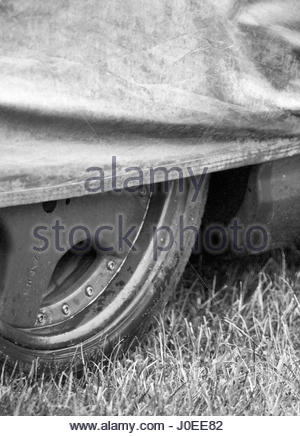 Europe, Germany, Bavaria, Munich, View Of Europe, Germany, Bavaria, Munich, View Of Sports Car Wheel Rim With Cover - Stock Photo