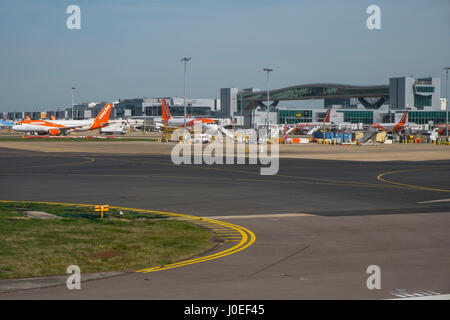 gatwick airport - Stock Photo