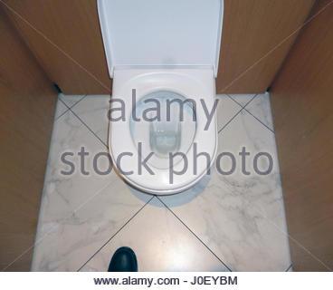 Europe, Uk, England, London, View Of Toilet - Stock Photo