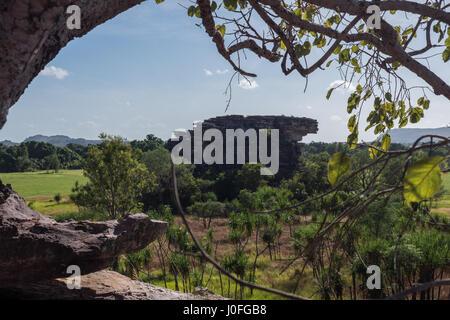 Kakadu National Park view accross valley - Stock Photo