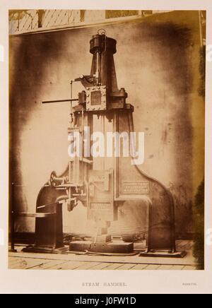 James Nasmyth's steam hammer - Stock Photo