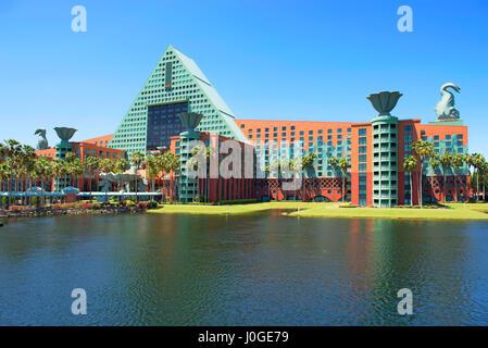 Disney Dolphin Resort, Disney World Orlando Florida - Stock Photo