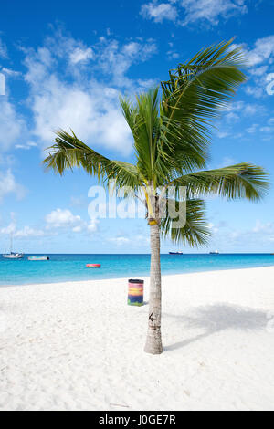 Bridgetown, Barbados - Tropical island - Caribbean sea - Brownes beach - Carlisle bay - Stock Photo