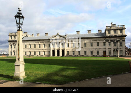 The Old Royal Naval College buildings, Greenwich, London, UK - Stock Photo
