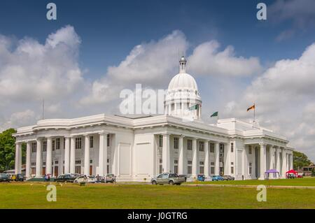 Colombo city town hall building, the headquarters of Colombo municipal council and other municipal offices in Colombo, - Stock Photo
