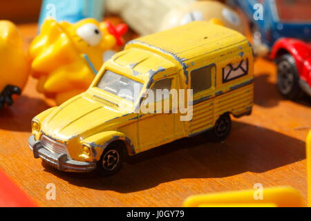 old toys cars on a flew market Stock Photo: 138340679 - Alamy