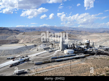 North Las Vegas, Nevada, USA. 9th Sep, 2014. A Georgia-Pacific Gypsum facility is seen September 9, 2014, in North - Stock Photo