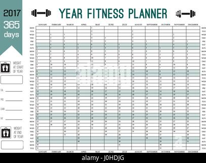 Design Of Wall Monthly Calendar For 2017 Year Print Template With