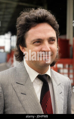 Millionaire entrepreneur and racehorse owner Terry Ramsden 1986 - Stock Photo