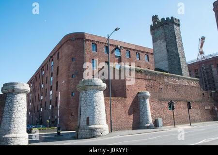 Titanic Hotel,Stanley Dock,Liverpool,Merseyside,England,UNESCO,World Heritage City,City,Northern,North,England,English,UK. - Stock Photo