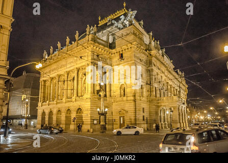 The Prague National Theatre Is A Symbol Of Czech National Identity