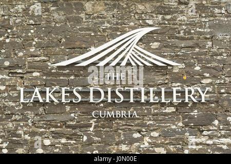 The Lakes Distillery, Bassenthwaite, Lake District, Cumbria, England - Stock Photo