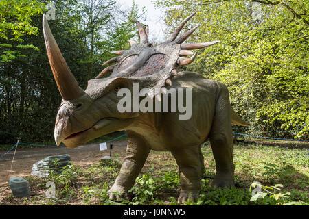Jurassic Kingdom, Osterley Park, London - Stock Photo