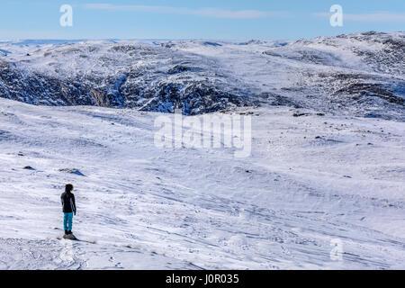 Kangerlussuaq, Artic Circle, Greenland, Europe - Stock Photo