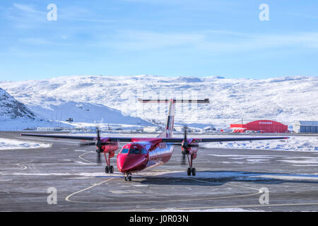 Kangerlussuaq, Artic Circle, Greenland, Europe - Stock Photo