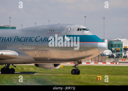 B-HUP Cathay Pacific Airways Cargo Boeing 747-467F/SCD - Stock Photo
