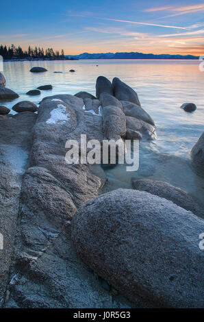 Beautiful Lake Tahoe California - Stock Photo