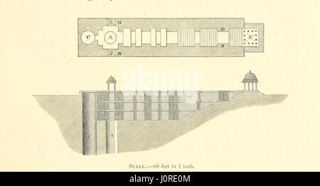Architecture at Ahmedabad, the Capital of Goozerat, photographed by Colonel Biggs, ... With an historical and descriptive - Stock Photo