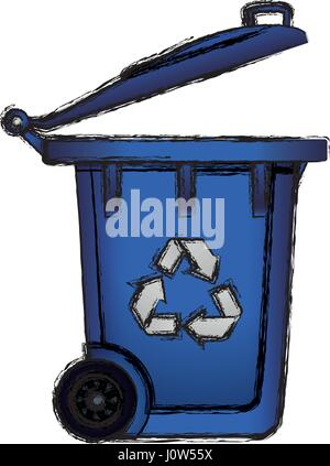 Recycle reduce and reuse - Stock Photo