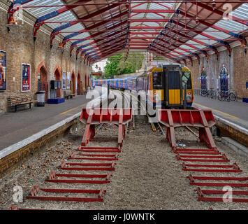 Windsor & Eton Riverside station is a station in Windsor in Berkshire, England - Stock Photo