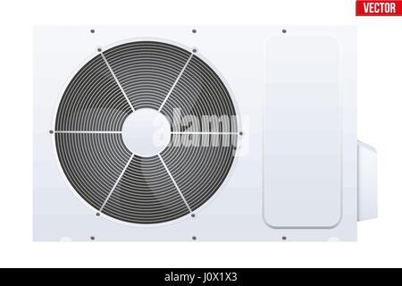 Split air conditioner system. - Stock Photo