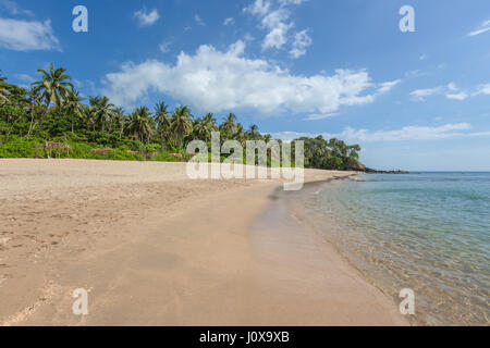 Diamond Cliff beach on Koh Lanta Yai, Krabi Province, Thailand, Southeast Asia - Stock Photo