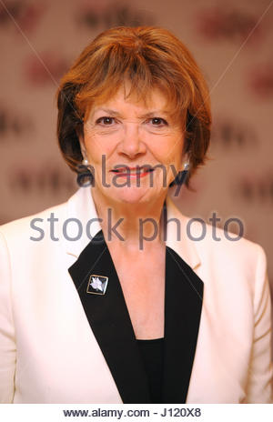 Embargoed to 0001 Tuesday April 18 File photo dated 02/12/11 of Dame Joan Bakewell, who has told how she once jetted - Stock Photo