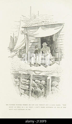 'Captains Courageous.' A story of the Grand Banks ... With illustrations by I. W. Taber - Stock Photo