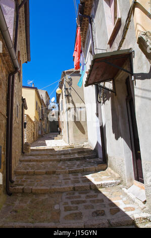 Alleyway. Pietragalla. Basilicata. Italy. - Stock Photo