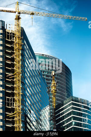 office city under construction - Stock Photo