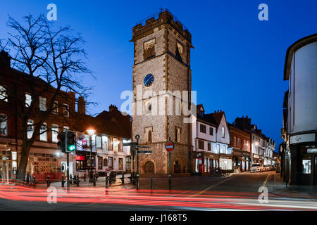The St Albans clock tower, Hertfordshire, United Kingdom, - Stock Photo