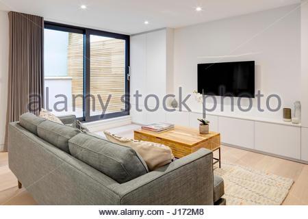 Living Room View Formal North End Road London United Kingdom